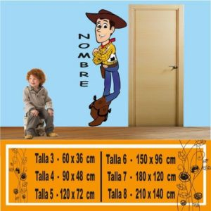 vinilo a color Sheriff Woody 1060